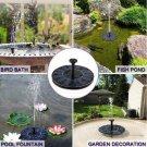 Mini Solar Water Fountain Pool Pond Waterfall Fountain Garden Decoration