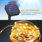 LED Solar Lamp Outdoor 22M LEDs String Lights Cool White Color