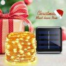 LED Solar Lamp Outdoor 22M LEDs String Lights Warm White Color