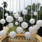 "10 x White Paper Lantern Wedding Round Shade Grad Party Ceiling Decor 10"""