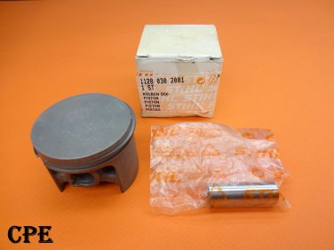 NEW GENUINE OEM STIHL 50MM PISTON & RING KIT O44, 044, MS440, MS 440 CHAINSAW # 1128-030-2001
