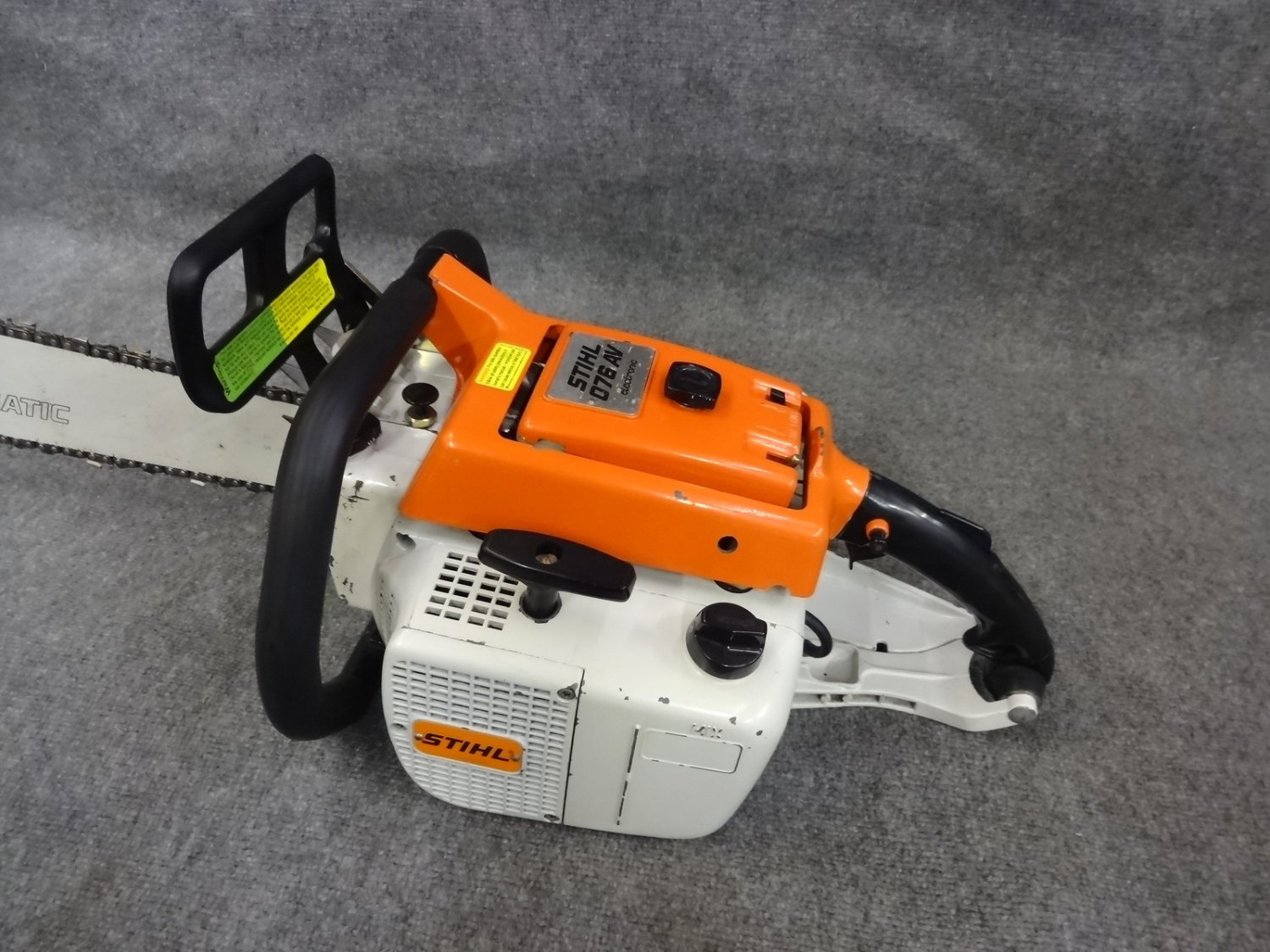 Stihl O76  076 Av Gas Chainsaw 28 U0026quot  Bar 111cc  7hp   Runs