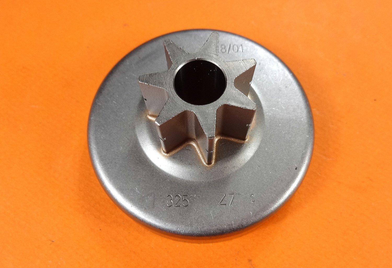 "NEW GENUINE OEM STIHL CLUTCH DRUM .325"", 7-T CHAIN SPROCKET O28 WB, 028 AV, SUPER CHAINSAW"