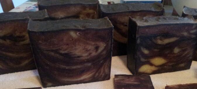 Chocolate Mocha Coffee Soap