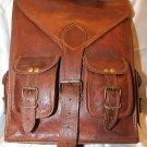 Vintage Style Leather Rucksack/ Shoulder backpack