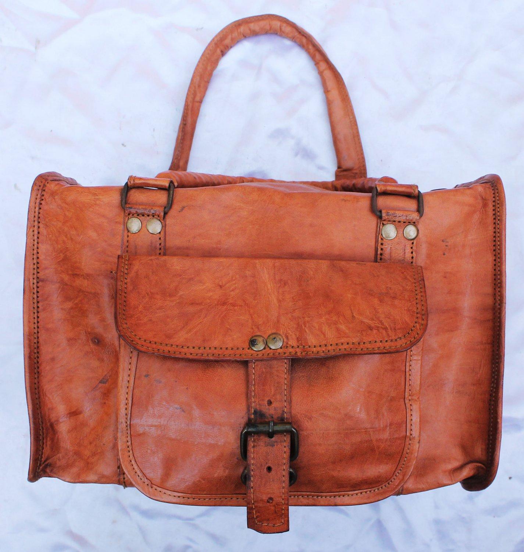 Handmade camera Leather Bag.