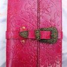 Real Leather handmade Sketchbook Scrapbook Notebook Diary Journal #3