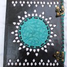 Real Leather handmade Sketchbook Scrapbook Notebook Diary Journal #10