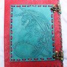 Real Leather handmade Sketchbook Scrapbook Notebook Diary Journal #15