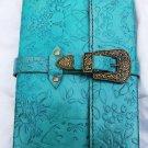 Real Leather handmade Sketchbook Scrapbook Notebook Diary Journal #19