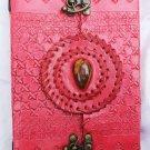 Real Leather handmade Sketchbook Scrapbook Notebook Diary Journal #21