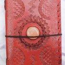 Real Leather handmade Sketchbook Scrapbook Notebook Diary Journal #22