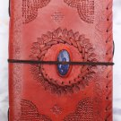 Real Leather handmade Sketchbook Scrapbook Notebook Diary Journal #23