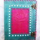 Real Leather handmade Sketchbook Scrapbook Notebook Diary Journal #25