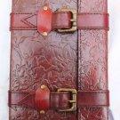 Real Leather handmade Sketchbook Scrapbook Notebook Diary Journal #27