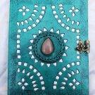 Real Leather handmade Sketchbook Scrapbook Notebook Diary Journal #30