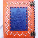 Real Leather handmade Sketchbook Scrapbook Notebook Diary Journal #38