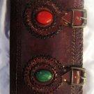 Real Leather handmade Sketchbook Scrapbook Notebook Diary Journal #39