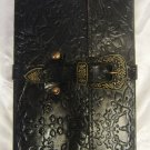 Real Leather handmade Sketchbook Scrapbook Notebook Diary Journal #40