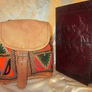 Combo Pack of leather journal and leather bag. For personal use and gifts. Pack #1
