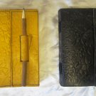 Combo pack of Real Leather handmade Sketchbook Scrapbook Notebook Diary Journal. Pack #17