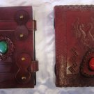 Combo pack of Real Leather handmade Sketchbook Scrapbook Notebook Diary Journal. Pack #20