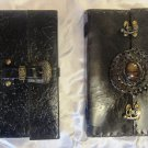 Combo pack of Real Leather handmade Sketchbook Scrapbook Notebook Diary Journal. Pack #21