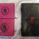 Combo pack of Real Leather handmade Sketchbook Scrapbook Notebook Diary Journal. Pack #22