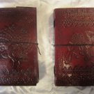 Combo pack of Real Leather handmade Sketchbook Scrapbook Notebook Diary Journal. Pack #23