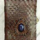 Real Leather handmade Sketchbook Scrapbook Notebook Diary Journal #47