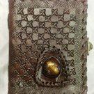 Real Leather handmade Sketchbook Scrapbook Notebook Diary Journal #48