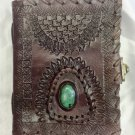 Real Leather handmade Sketchbook Scrapbook Notebook Diary Journal #50