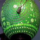 DECORATIVE LAMP/ Ceramic and glass Lamp/ Hanging lamp/ Ceiling Lamp/ Festival/ Christmas Lamp. #5
