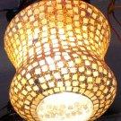 DECORATIVE LAMP/ Ceramic and glass Lamp/ Hanging lamp/ Ceiling Lamp/ Festival/ Christmas Lamp. #6