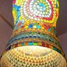 DECORATIVE LAMP/ Ceramic and glass Lamp/ Hanging lamp/ Ceiling Lamp/ Festival/ Christmas Lamp. #10