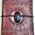 Real Leather handmade Sketchbook Scrapbook Notebook Diary Journal #68