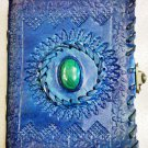 Real Leather handmade Sketchbook Scrapbook Notebook Diary Journal #69