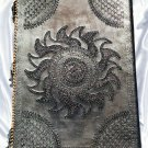 Real Leather handmade Sketchbook Scrapbook Notebook Diary Journal #83