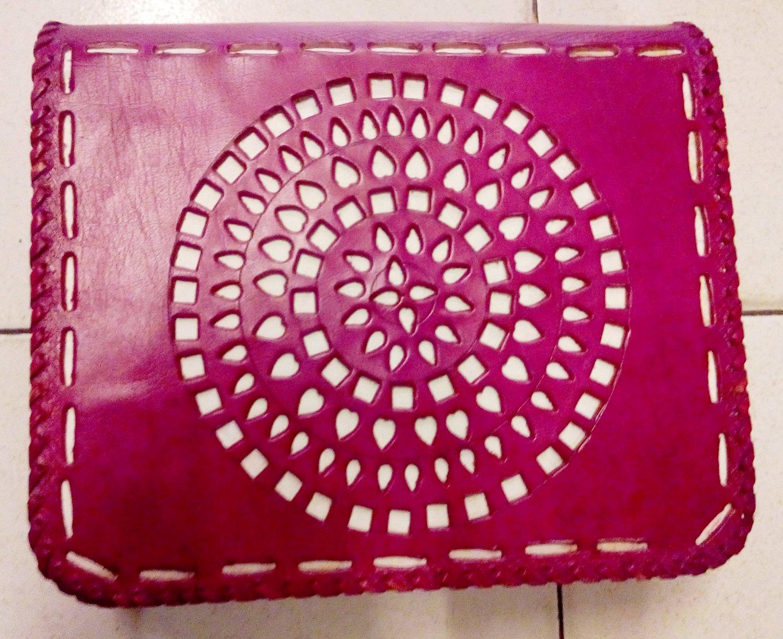 Handmade Leather Satchel/Messenger/Cross body Unisex Bag.