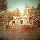 Disneyland 35mm KEEL BOAT Frontierland Souvenir Slide PANA-VUE (Vintage) VP41A1