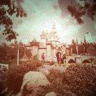 Disneyland 35mm SLEEPING BEAUTY CASTLE Souvenir Slide PANA-VUE (Vintage) VP508A
