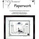 Calico Crossroads PAPERWORK Kats By Kelly Cross-Stitch Pattern FREE SHIPPING