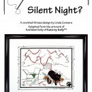Calico Crossroads SILENT NIGHT Kats By Kelly Cross-Stitch Pattern FREE SHIPPING