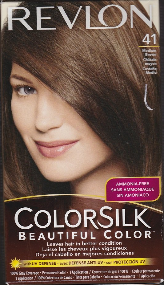 New Revlon Colorsilk Hair Color 41 Medium Brown