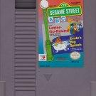 SESAME STREET ABC Nintendo (NES) CARTRIDGE ONLY! Letter-Go-Round & Ernie's Big Splash