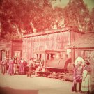 Knott's Berry Farm 35mm OLD BORAX TRAIN Souvenir Slide PANA-VUE (Vintage) S1211 Knotts