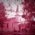 Knott's Berry Farm 35mm CHURCH OF REFLECTIONS Souvenir Slide PANA-VUE (Vintage) S1232 Knotts