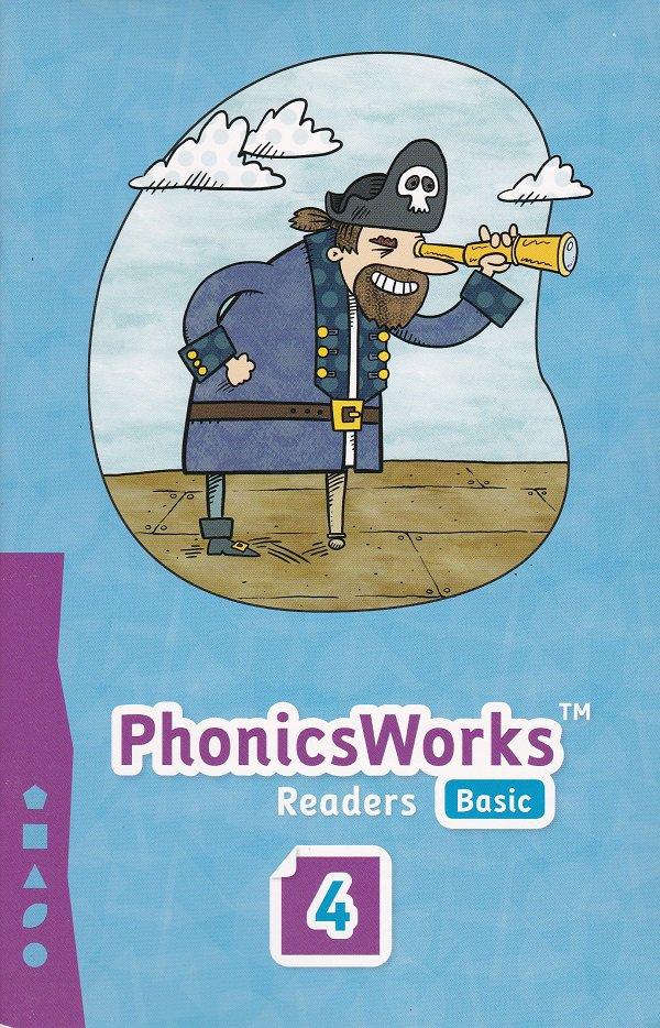 PhonicsWorks Basic Readers #4 (PB) K12