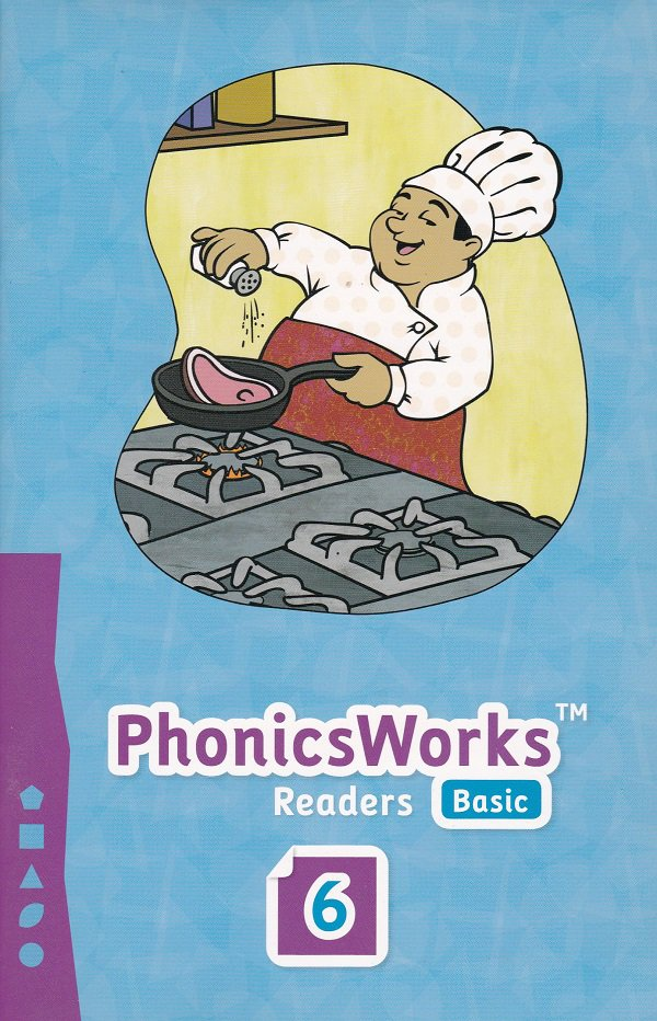 PhonicsWorks Basic Readers #6 (PB) K12