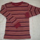 EUC - OLD NAVY Baby Boys Size 5T Long Sleeve Red Crew Neck Shirt